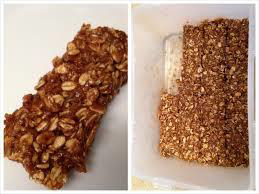Coffee Oatmeal, Nut and Honey Bar