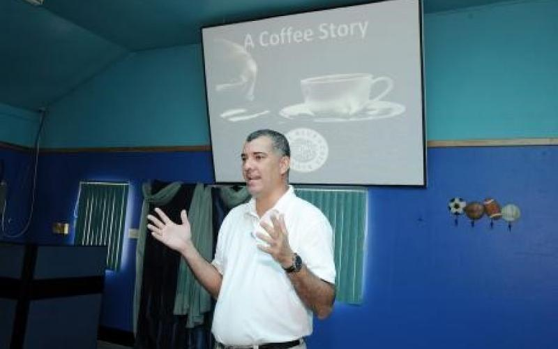 Jason Sharp, director of Jamaica Coffee Traders and president of the Jamaica Coffee Exporters Association.